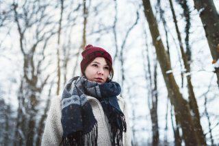 Portrait von Aline