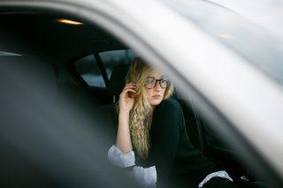 Christina beim Carshooting